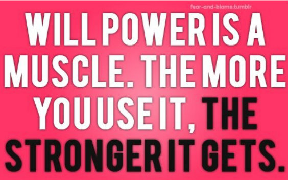 Strength of Will