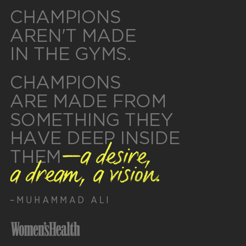 Be Strong. Be aChampion.